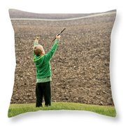 The World Is An Orchestra Throw Pillow