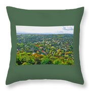 The World Stands Out On Either Side Throw Pillow