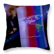 The World We Live In Throw Pillow