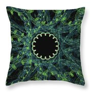 The Worm Hole Throw Pillow
