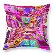The Writing On The Wall 17 Throw Pillow by Tim Allen
