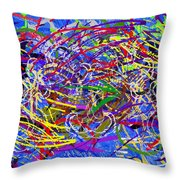 The Writing On The Wall 26 Throw Pillow