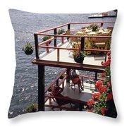 The Wyker's Deck Throw Pillow