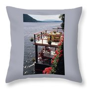 The Wyker's Deck Throw Pillow