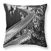 The Y Throw Pillow