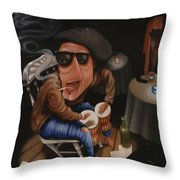 The Y-not Coffee House 1999 Throw Pillow