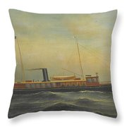 The Yacht Aztec Throw Pillow