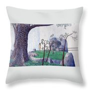 The Yearning Tree Throw Pillow