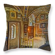 The Yellow Room At Fonthill Castle Throw Pillow