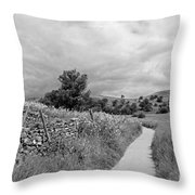 The Yorkshire Dales Uk Throw Pillow