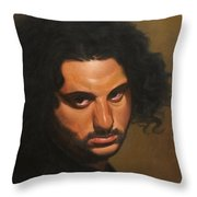 The Young Italian Throw Pillow