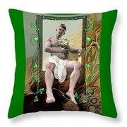 The Young Lover Throw Pillow