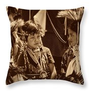 The Young Warriors - 2 Throw Pillow