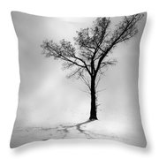 The Young Wind  Throw Pillow