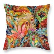 The Zodiac Signs Throw Pillow