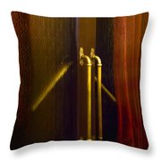 Theater Doors Throw Pillow