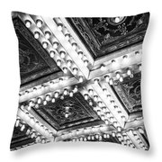 Theater Lights Throw Pillow