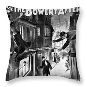 Theater Melodrama, C1899 Throw Pillow