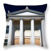 Theatre Putbus Island Of Rugen II Throw Pillow