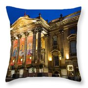 Theatre Royal Throw Pillow