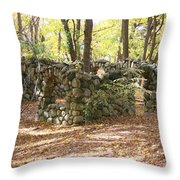 Theatre Square Throw Pillow