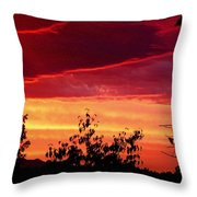 Thee Sunset Of Summer 2014 Throw Pillow