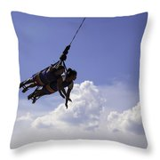 Thelma And Louise - Coney Island  2013 - Bklyn - Ny Throw Pillow