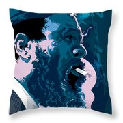 Thelonius Monk Throw Pillow