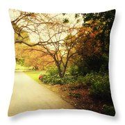 Then Autumn Arrives 04 Throw Pillow