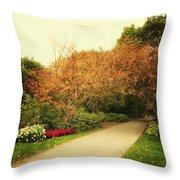 Then Autumn Arrives 05 Throw Pillow
