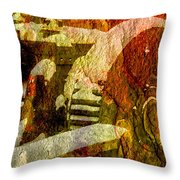 Then Now And Forever Throw Pillow