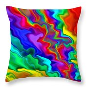 Then The Sky Exploded 3 Throw Pillow
