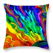 Then The Sky Exploded 6 Throw Pillow