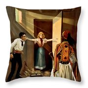 Then You Die Together Throw Pillow