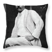Theodore Roosevelt (1858-1919) Throw Pillow