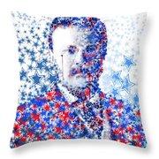 Theodore Roosevelt 2 Throw Pillow