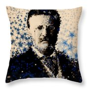 Theodore Roosevelt 3 Throw Pillow
