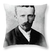 Theodorus Van Gogh (1857-1891) Throw Pillow