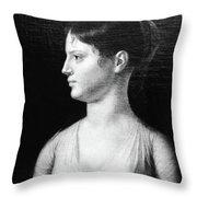 Theodosia Burr (1783-1813) Throw Pillow
