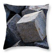 Theory Of Black Holes - Cubism Interpretation Throw Pillow