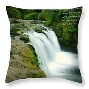 There Are Places Throw Pillow