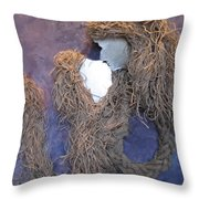 There First Kiss When Two Become One Throw Pillow