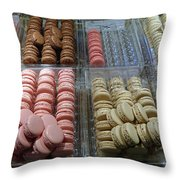 There Goes My Diet In Laduree On The Champs De Elysees Throw Pillow