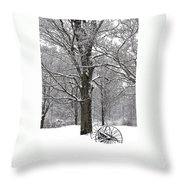 There Is A Kind Of Hush Throw Pillow