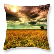 There Is A Sun After The Storm Throw Pillow