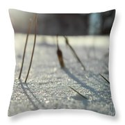 There Is Light Throw Pillow