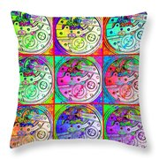 There Is Never Enough Time 20130606 Throw Pillow
