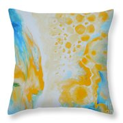 There - Looking At Me Throw Pillow