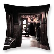 There She Is By Jrr Throw Pillow