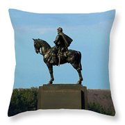 There Stands Jackson Throw Pillow